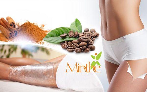 Skořicový nebo kávový zábal celého těla v délce 60 minut včetně šálku čaje, kávy nebo čokolády!