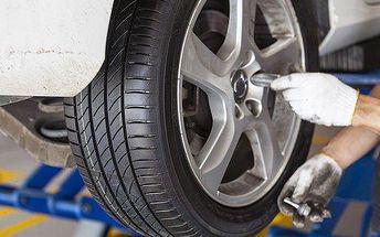 Přezutí pneu: osobní auta, dodávky i off road