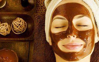 Profesionální ošetření s masáží očního okolí a čokoládovou maskou