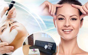 45-90min. kosmetické ošetření pleti! Proti stárnutí, akné a regenerace! Jedinečná péče pro každou pleť!