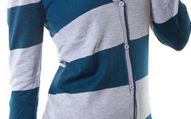 Made in Italy dámský svetr modrošedý