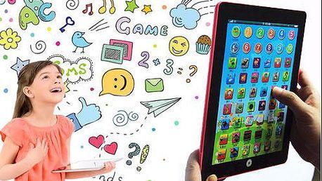 Dětský tablet s výukou angličtiny s poštovným v ceně