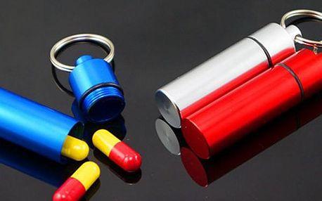 Mini pouzdro na léky - přívěsek