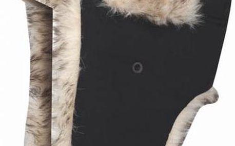 Zimní čepice Loap Zimina1 CSU1412 černá