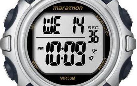 Timex T5K644 Marathon hodinky - navy/silver