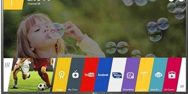 LED FullHD Tv LG 32LF650V šedá + dárek