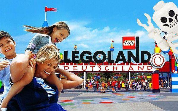 1denní zájezd na Halloween do německého Legolandu pro jednoho