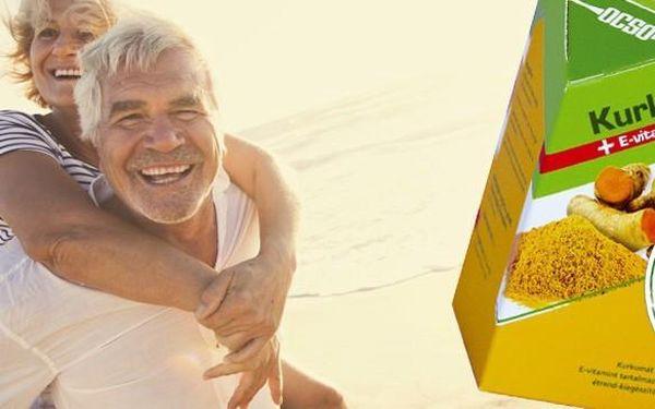 Kurkuma + vitamín E - PŘÍRODNÍ VŠELÉK