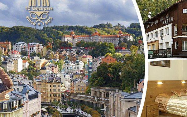 Lázeňský pobyt pro 2 až na 6 dní s polopenzí v Hotelu Gejzír v Karlových Varech.Děti do 6 let zdarma