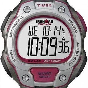 Timex T5K689 Pánské hodinky Ironman Traditional 50-Lap black