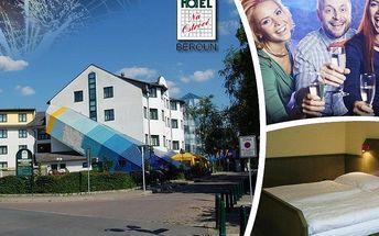 Silvestrovský pobyt pro 2 na 3 dny v Hotelu Na Ostrově v Berouně. Polopenze, silvestrovský program!