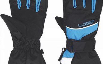 Lyžařské rukavice Loap Venda GKU1430 černá/modrá