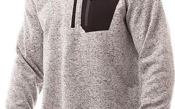 Pánský svetr/mikina Nordblanc NBWFM4626 krémově bílá