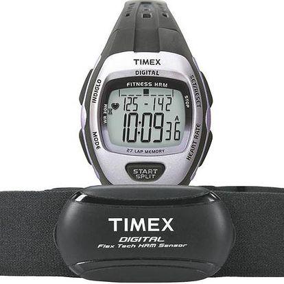 Timex T5K731 Dámské hodinky s měřením srdečního tepu black