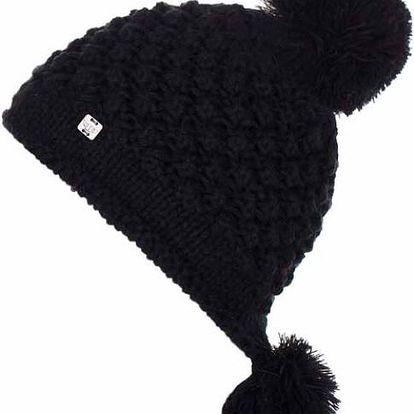 Woox Blackcurl Beanie Dámská zimní čepice černá