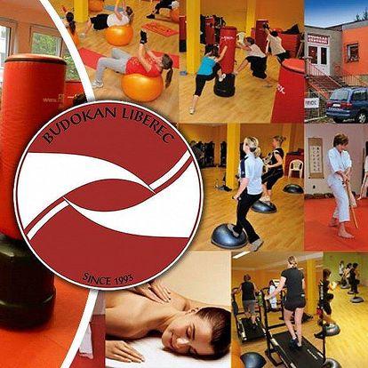 Měsíční permanentka na cvičení do centra Budokan na různé formy cvičení po dobu 30 dní neomezeně!