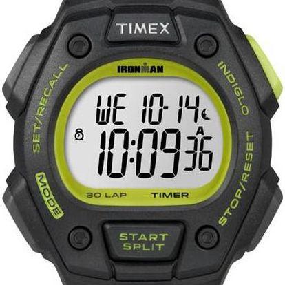 Timex T5K824 Pánské hodinky Ironman Classic 30 black/green