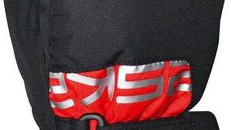 Juniorské lyžařské rukavice Eska 1600T/11 - černá/červená