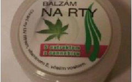 AWA superfoods Balzám na rty s extraktem z cannabisu 25ml