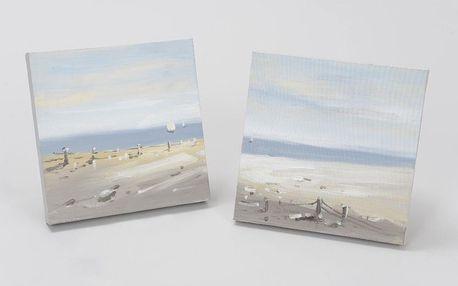 Plátno Seaside, 30x30 cm (2 ks)