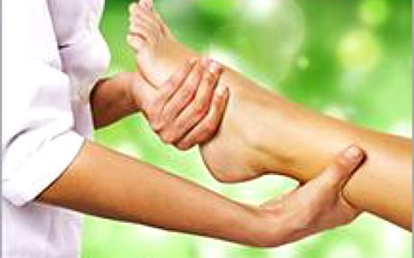 Masáž plosky nohou