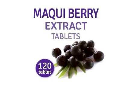 AWA superfoods Maqui berry extract 120 tablet