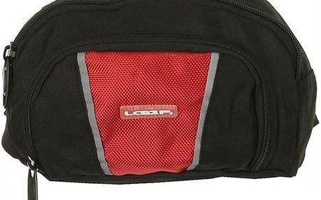 Ledvinka Loap Vaist Bag BA505 černočervená