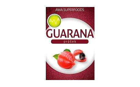 AWA superfoods Guarana prášek 100g