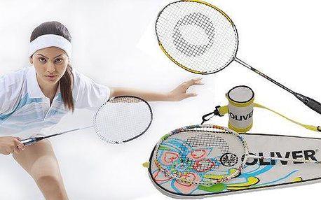 Badmintonová raketa HCT 7.2 a Flowerka NO. 5
