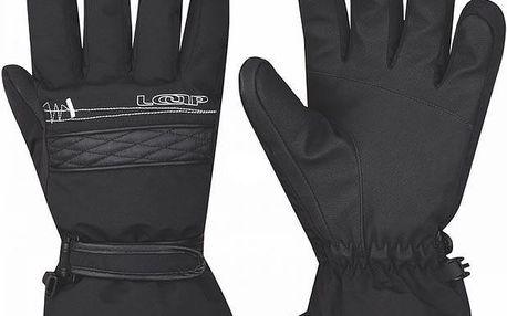 Lyžařské rukavice Loap Velbone 1 GKU1409 černá