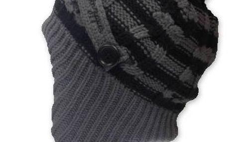 Dámská zimní čepice VoZzipper Penny Royal Beanie - šedá