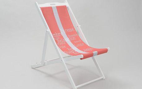 Relaxační stolička Deckchair - doprava zdarma!