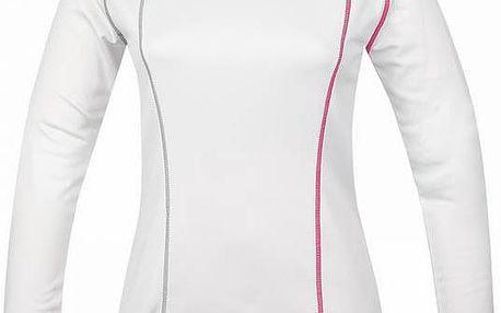 Dámské termo triko s dlouhým rukávem Loap Pourr bílá