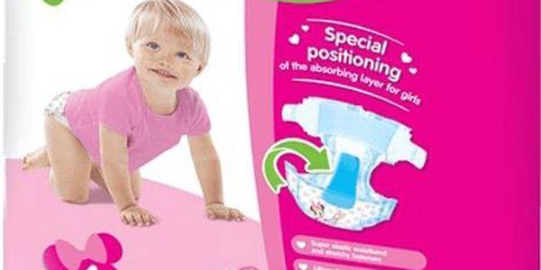 HUGGIES Ultra Comfort JUMBO GIRL Disney, vel. 4+, 40 ks (10 - 16 kg)