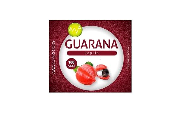 AWA superfoods Guarana extract 100 tobolek