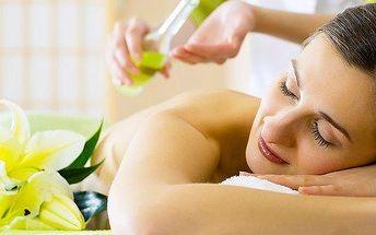 Aroma masáž se zábalem v délce 60 minut
