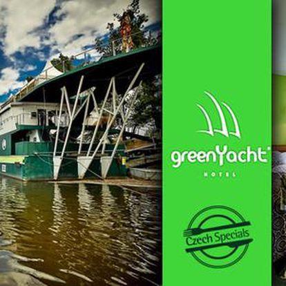 Romantický pobyt v kajutě hotelu GreenYacht**** na Rohanském ostrově