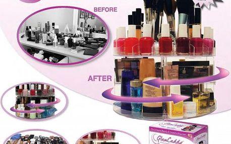 Kosmetický stojánek GlamCaddy - uspořádejte si své šminky!