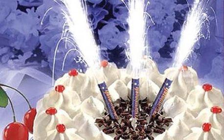 Prskavky na dort - pro nezapomenutelnou oslavu!