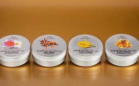 Přírodní tělové máslo a peeling omamných vůní