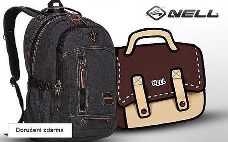 Výprodej tašek a batohů Nell – sleva až 67 %