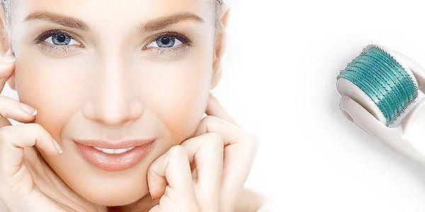 Kosmetický váleček Dermaroller řešení kosmetických problémů pleti