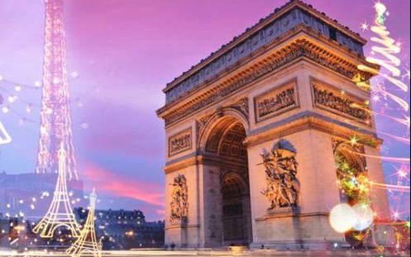 Zářící Paříž v období adventu. 3-denní zájezd nebo 4-denní s ubytováním