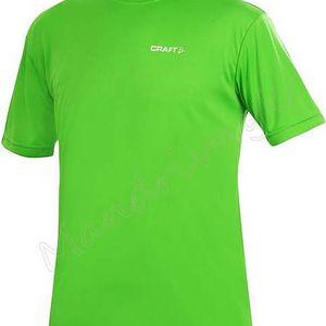 Pánské tričko Craft Active Run Tee 199205-1680 zelená