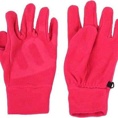Zimní rukavice fleece Nordblanc Gilde NBWG3350 růžová