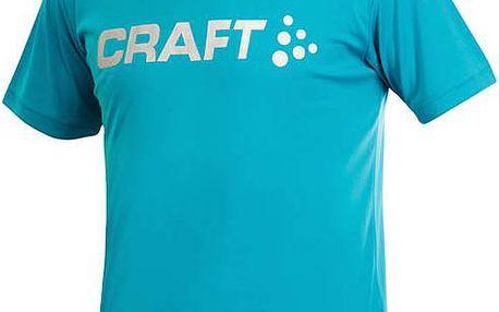 Pánské tričko Craft Active Run Logo 198921-1662 modrá
