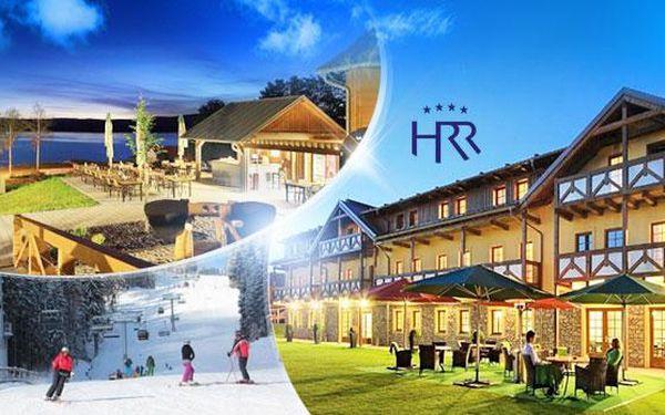 Lipno! 3 dny v Hotelu Relax**** pro dva s polopenzí! Láhev vína, půjčení sportovního vybavení, doprava skibusem!
