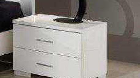 SCONTO SHINE Noční stolek set 2 ks