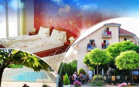 SLOVENSKO - Podhájska! Ubytování na 4 či 5 dní pro DVA! POPOLENZE, BAZÉN s mořskou vodou a sleva na LÁZNĚ.
