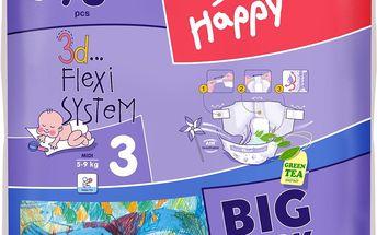Bella Happy Midi 78 ks - jednorázové pleny